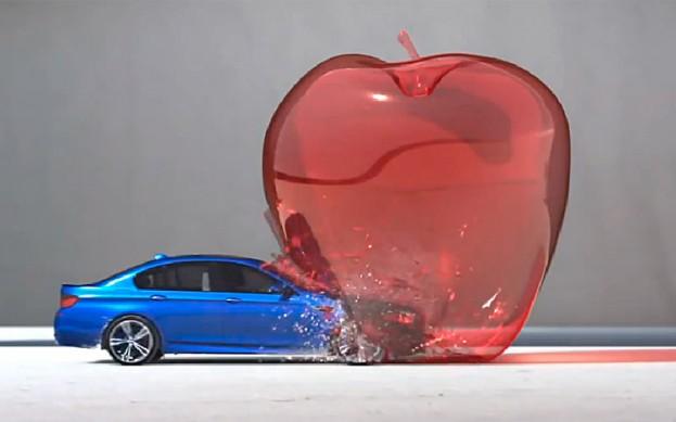 "BMW M5 ""Bullet Test"""