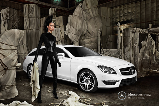 Mercedes-Benz & Supermodels